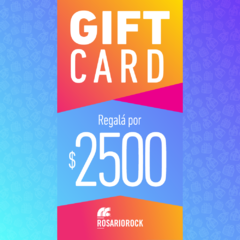 GIFT CARD: $2500