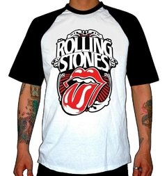 REMERA COMBINADA THE ROLLING STONES FOREVER STONE