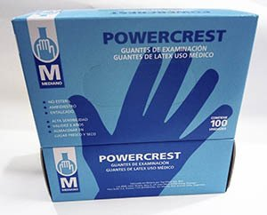 Guantes de Látex Powercrest