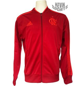 958af4f44e7 Jaqueta Flamengo Adidas PES Vermelha 2018