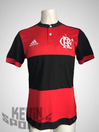 fbf1c32590 Camisa Flamengo I 2017 18