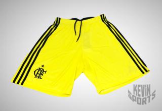 Short adidas Performance Flamengo Goleiro I Amarelo 0d9aa854e47b9