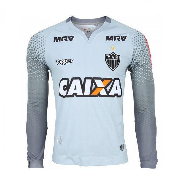 Camisa Topper Atletico Mineiro Goleiro I 2017 Manga Longa Infantil 4200750 324