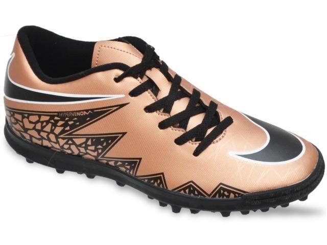 38d2fb0a0 Chuteira Nike Hypervenom Society – Bronze, preto e branco