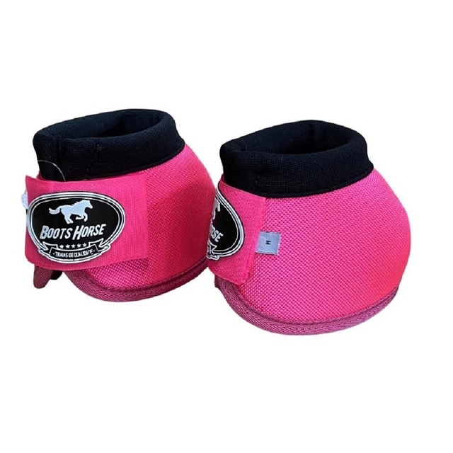 Cloche Pink Boots Horse