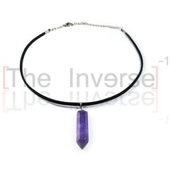 Choker Amethyst Simple