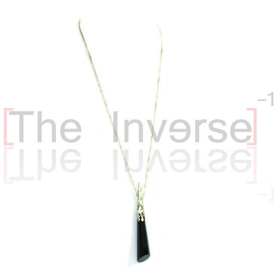 Black Crystal Necklace - buy online