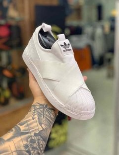 Tenis Adidas Slip On Branco