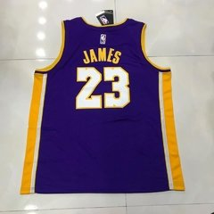 Regata Nike LA Lakers Lebron James Roxa na internet