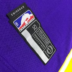 Regata Nike LA Lakers Lebron James Roxa - Rap Station