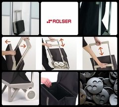 CARRO ROLSER PLEGAMATIC ORIGINAL - TWEED MALVA en internet