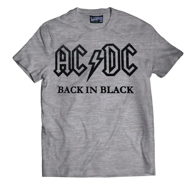 Remera AC DC BACK IN BLACK