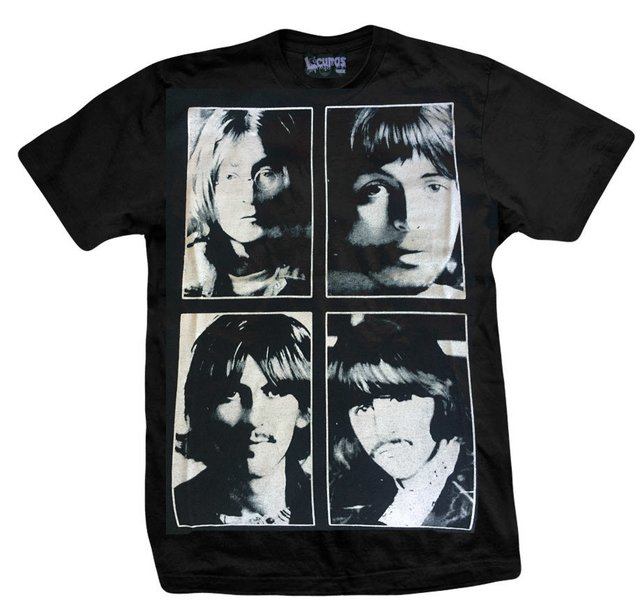 Remera THE BEATLES CUADROS