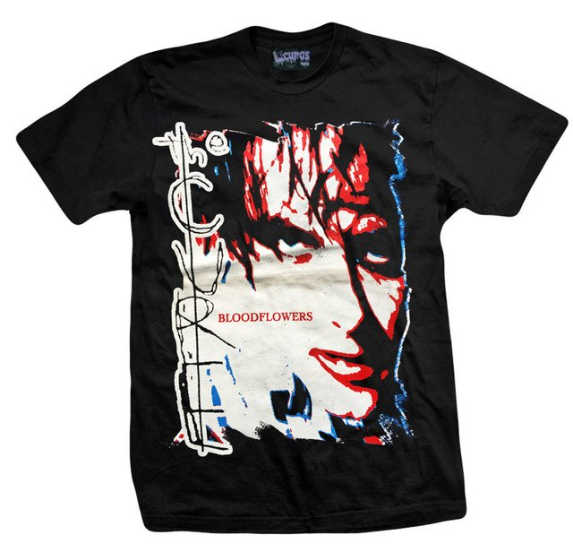 Remera THE CURE BLOODFLOWERS