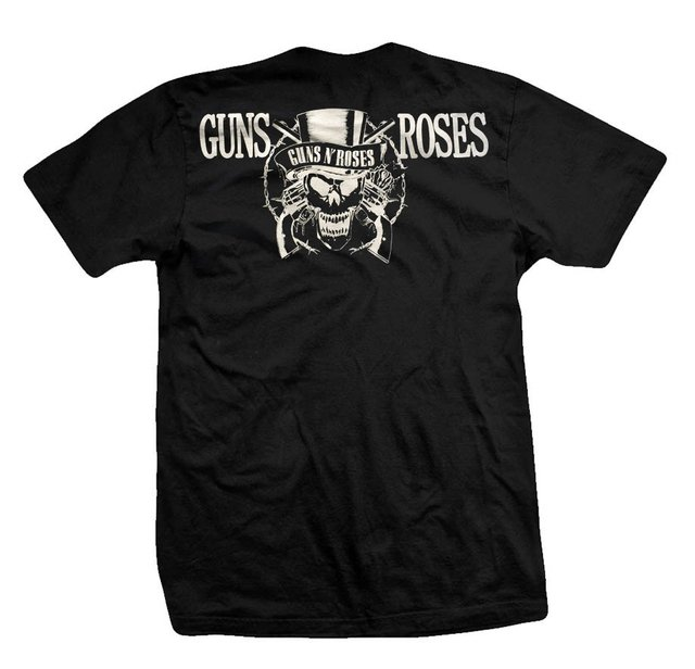 Remera GUNS AND ROSES SKULL AND GALLEY - comprar online