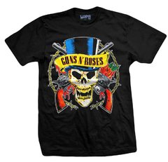 Remera GUNS AND ROSES SKULL AND GALLEY
