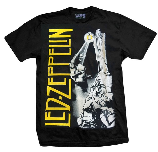 Remera LED ZEPPELIN LIGHT