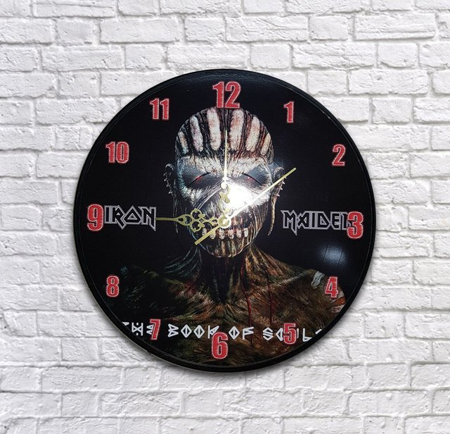 Reloj IRON MAIDEN THE BOOK OF SOULS