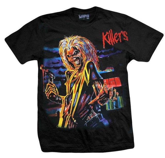 Remera IRON MAIDEN KILLERS