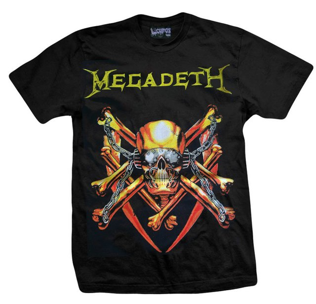 Remera MEGADETH KILLING IS MY BUSINESS
