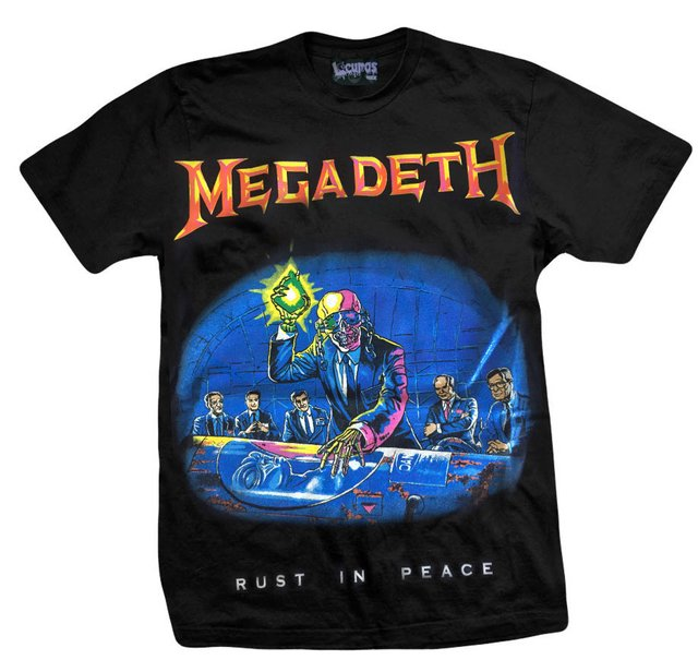 Remera MEGADETH RUST IN PEACE