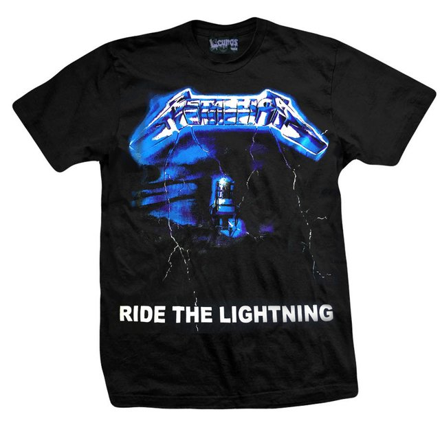Remera METALLICA RIDE THE LIGHTNING