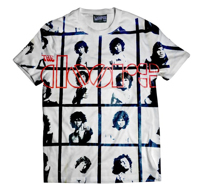 Remera THE DOORS CUADROS