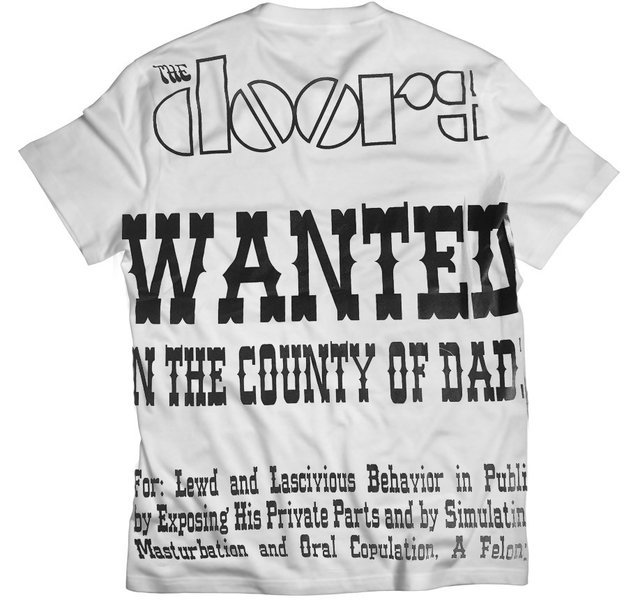 Remera THE DOORS JIM MORRISON - comprar online