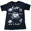 Remera Korn - Life is peachy