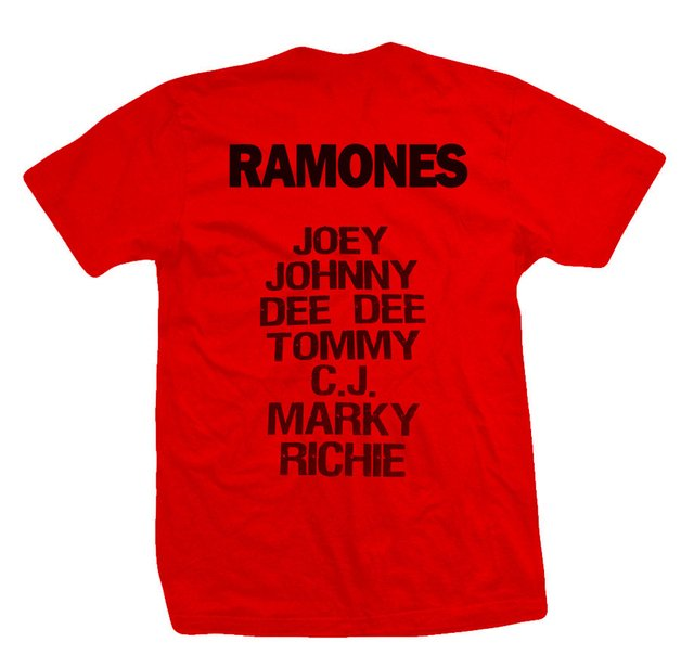 Remera THE RAMONES - comprar online