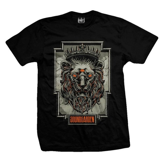 Remera SOUNDGARDEN LION