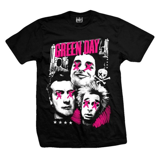 Remera GREE DAY GUYS