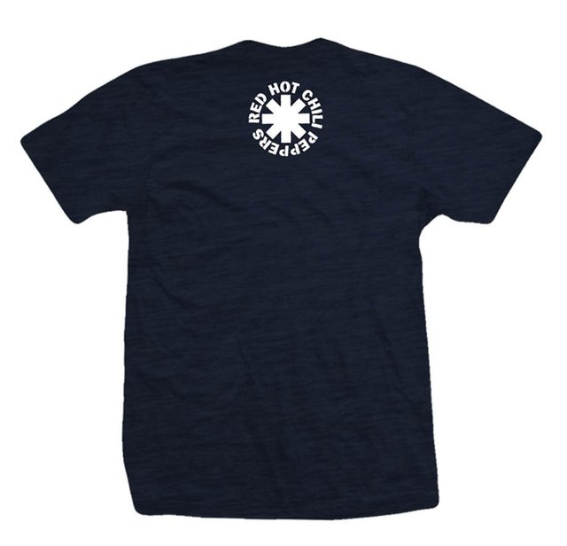 Remera RED HOT CHILI PEPPERS CLASSIC DEEP BLUE - comprar online