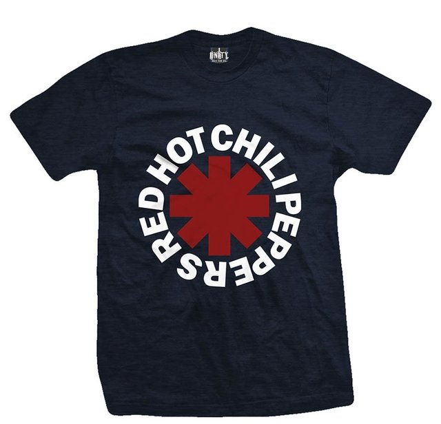 Remera RED HOT CHILI PEPPERS CLASSIC DEEP BLUE
