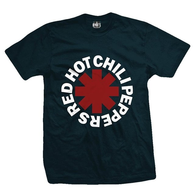 Remera RED HOT CHILI PEPPERS CLASSIC GREEN