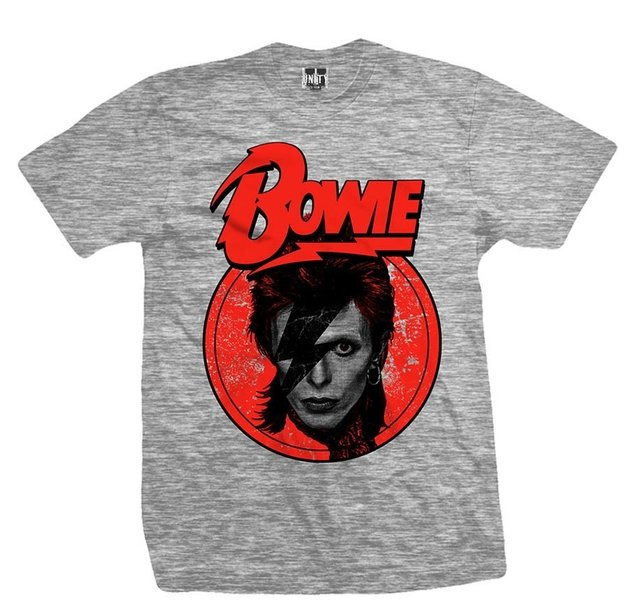 Remera DAVID BOWIE STARDUST GREY