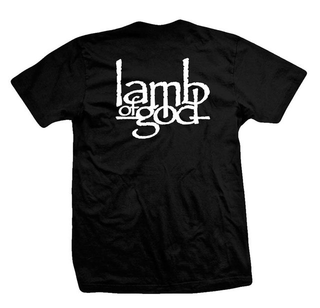Remera LAMB OF GOD SKULL WIZARD - comprar online