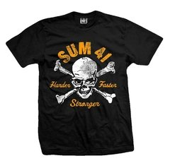 Remera SUM 41 HARDER FASTER STRONGER