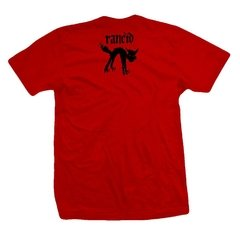 Remera RANCID POLICE CAR RED - comprar online
