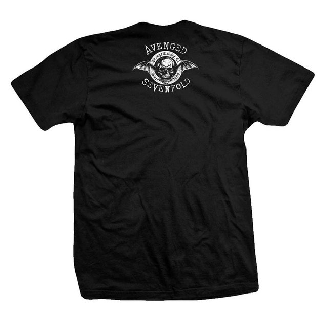 Remera AVENGED SEVENFOLD BONES CIRCLE - comprar online