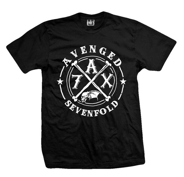 Remera AVENGED SEVENFOLD BONES CIRCLE