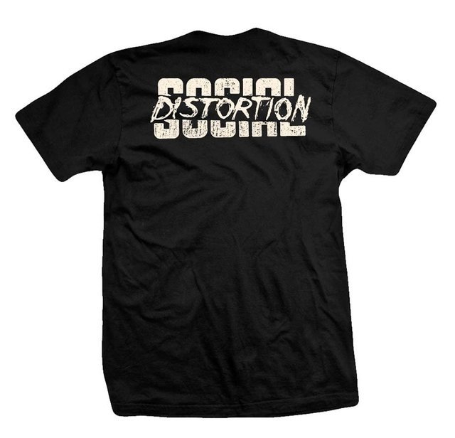 Remera SOCIAL DISTORTION CABARET - comprar online