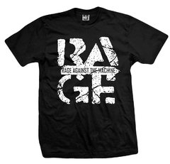Remera RAGE AGAINST THE MACHINE THE POWER BLACK II