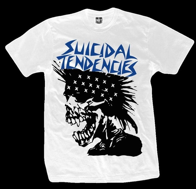 Remera SUICIDAL TENDENCIES EXPLOITED HEAD