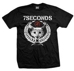 Remera 7 SECONDS POSI-CATS