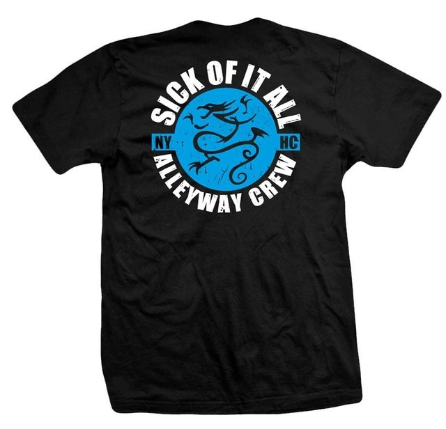 Remera SICK OF IT ALL ALLEWAY - comprar online