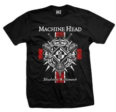 Remera MACHINE HEAD BLOOD STONE & DIAMONDS