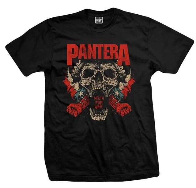 Remera PANTERA MOUTH FOR WAR