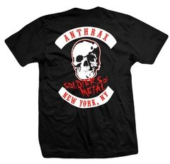Remera ANTHRAX SOLDIERS OF METAL - comprar online