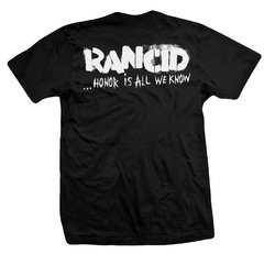 Remera RANCID HONOR IS ALL WE KNOW - comprar online